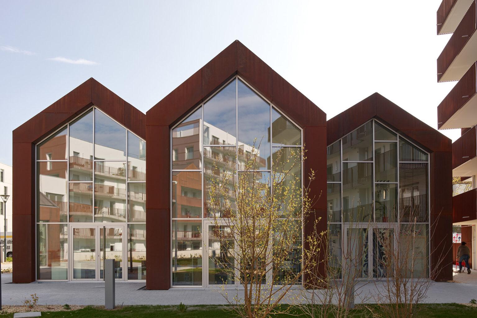 Le Cours des Arts - ZAC Beauregard, Quincé à Rennes (35)