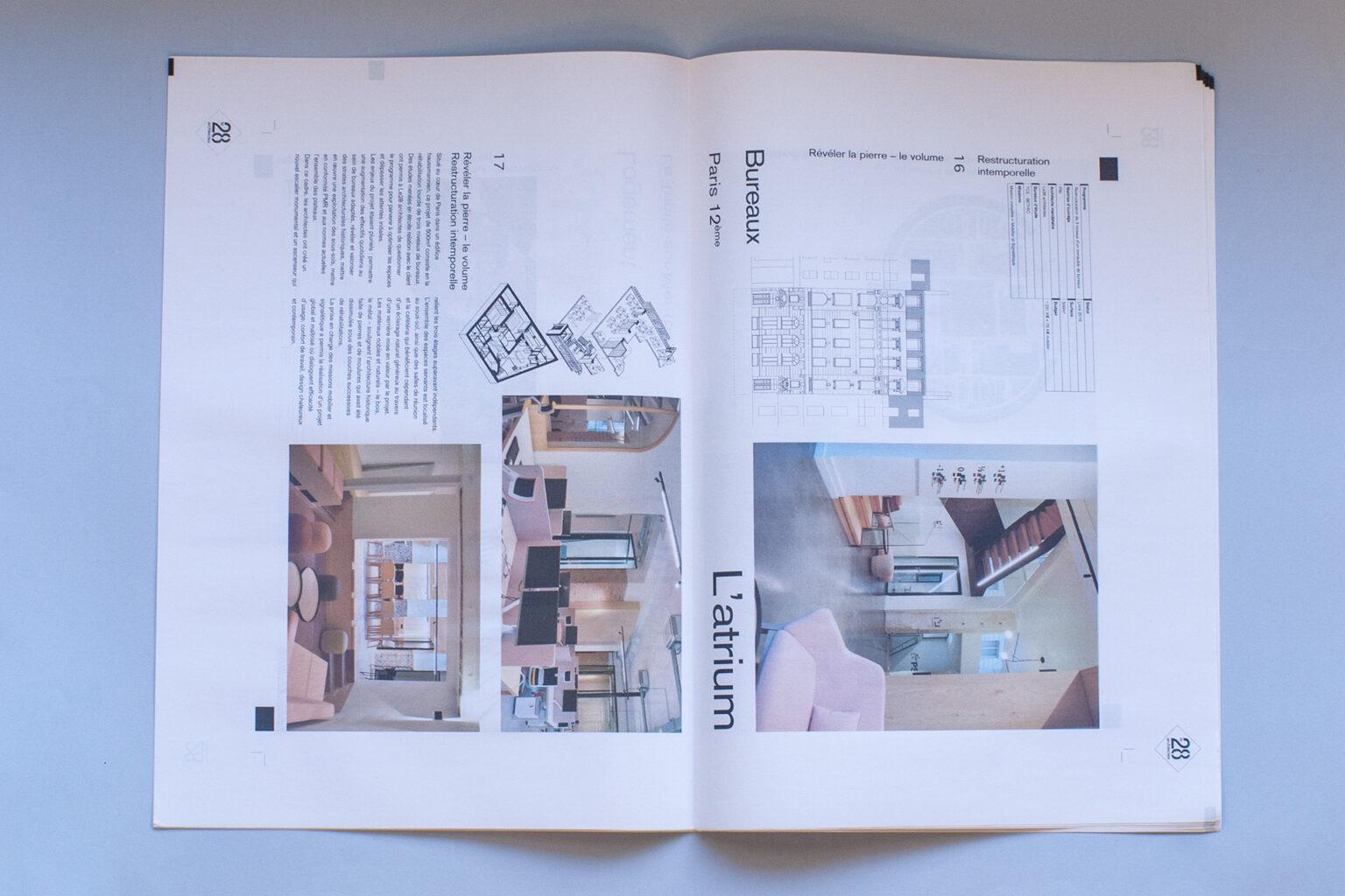 Dosier AJAP 2020 Le 28 architectes par FE Consulting - page intérieure