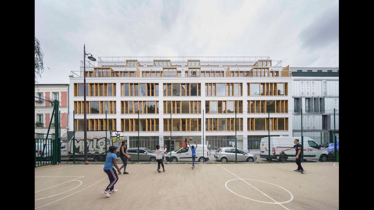 mobile architectural office - 35 logements libres et sociaux à Paris 11e