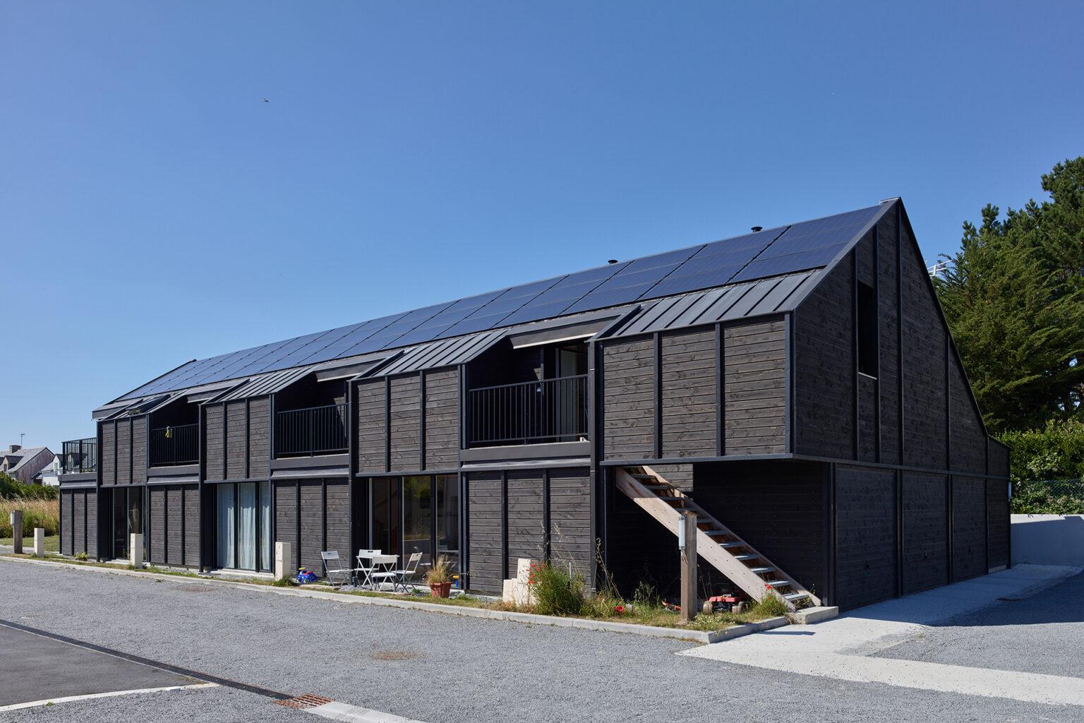 Angélique Chedemois - Écoquartier de 8 logements BEPOS à Guérande (44)