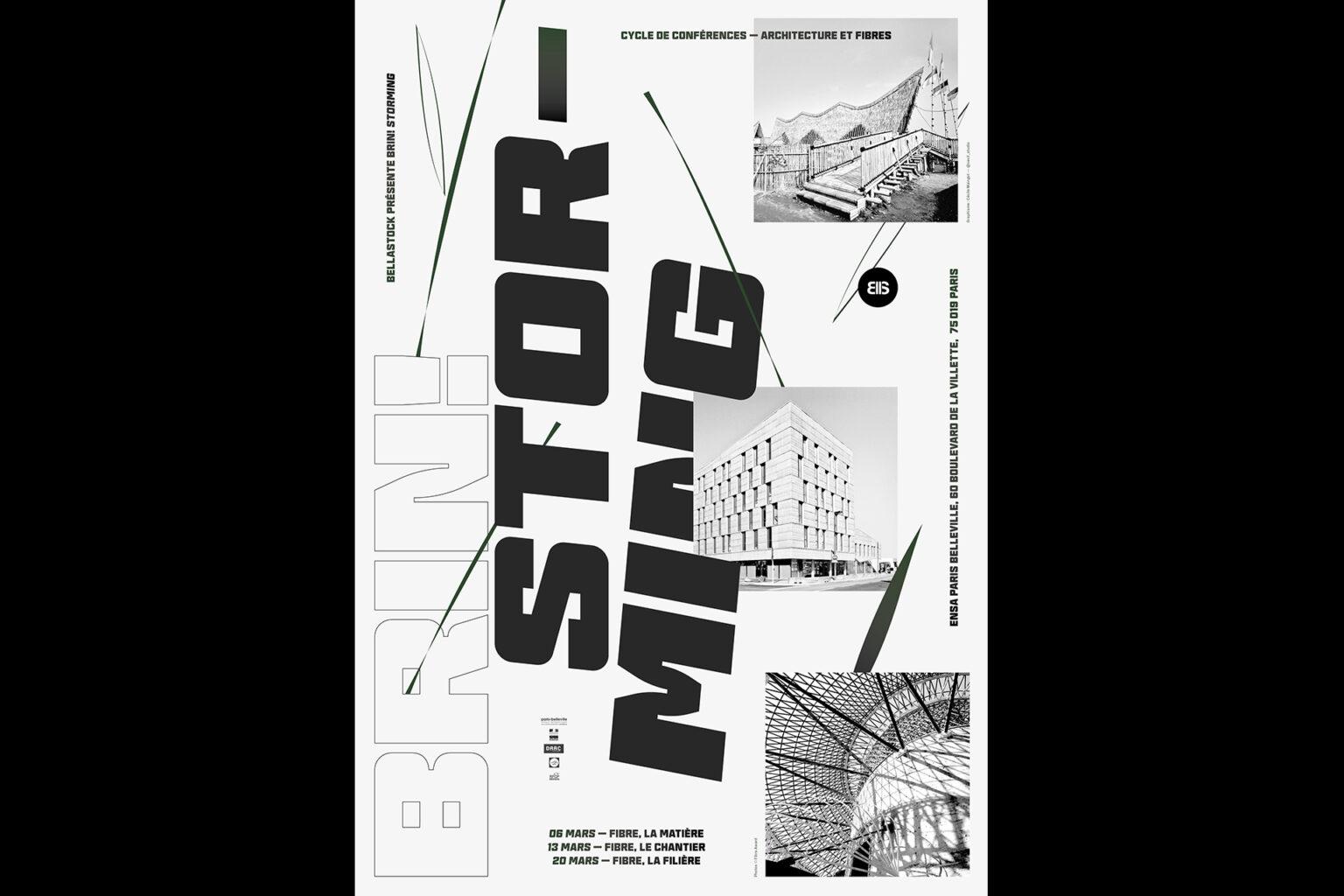 Affiche conférences Festival Bellastock 2019
