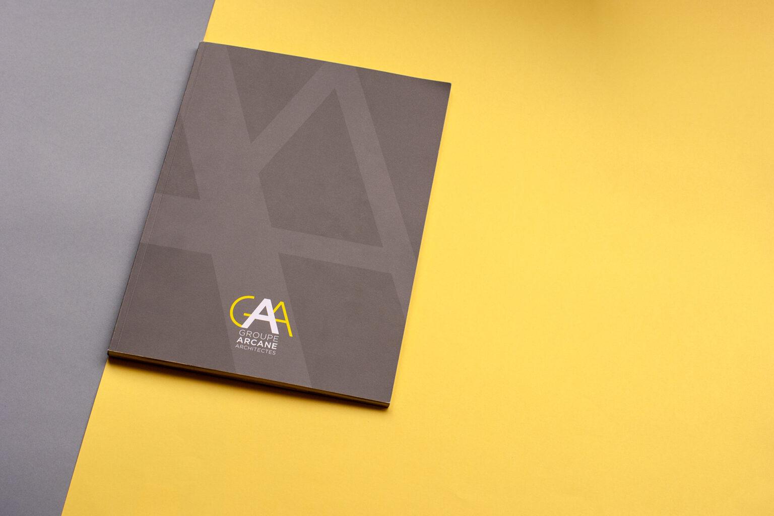 Dossier d'œuvres Groupe Arcane Architectes par FE Consulting - couverture