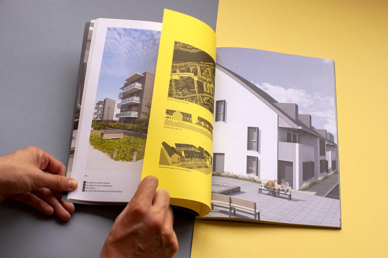 Dossier d'œuvres Groupe Arcane Architectes par FE Consulting - page intérieure