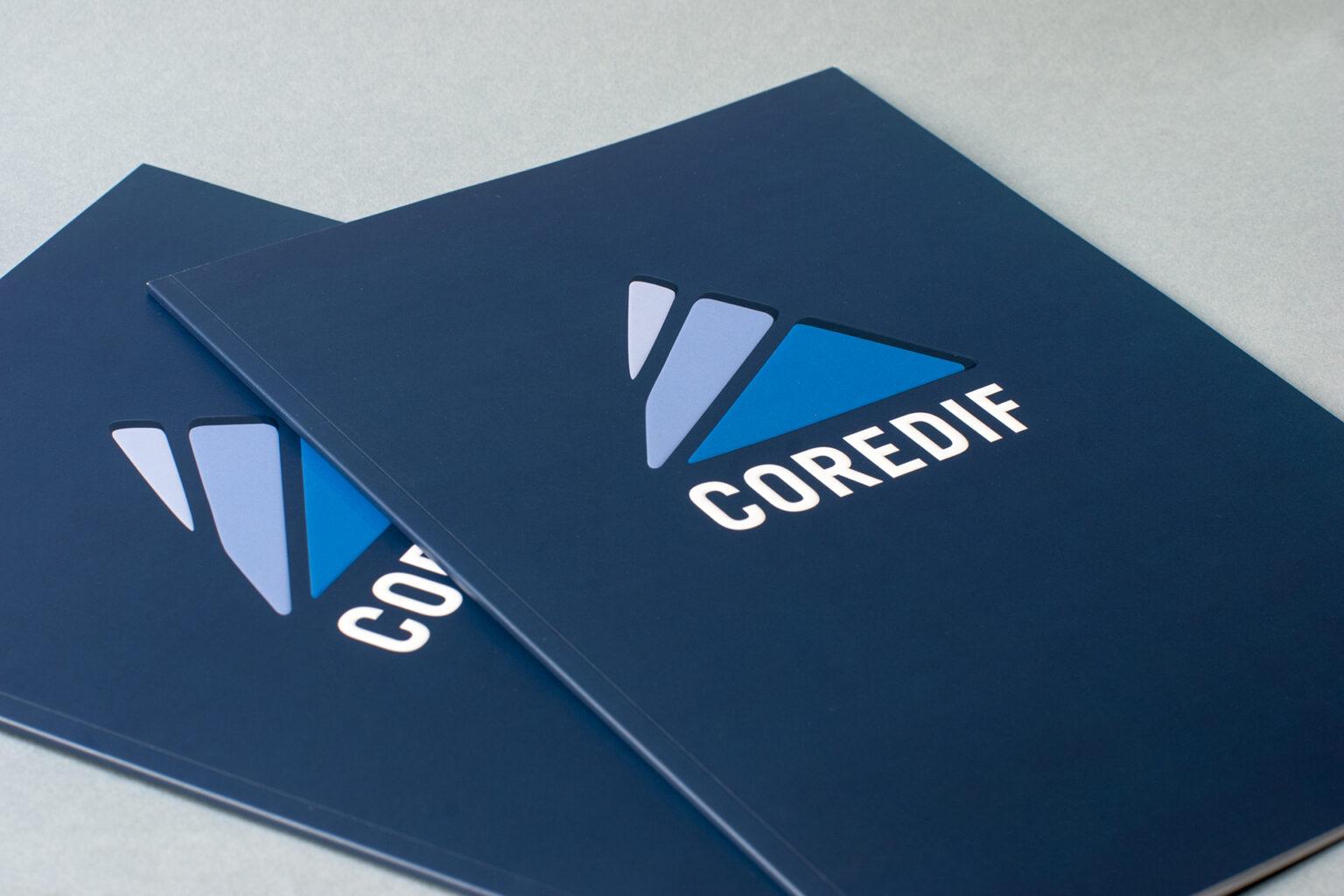 COREDIF Plaquette commerciale par FE Consulting - couverture