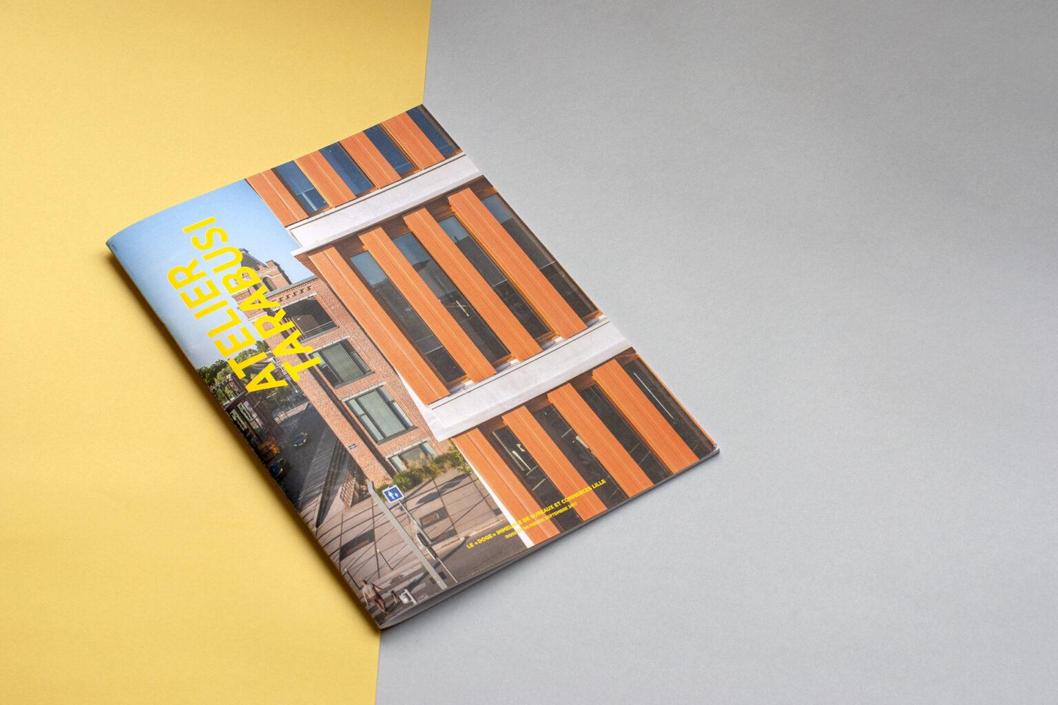 Dossier de presse Atelier Tarabusi par FE Consulting - couverture