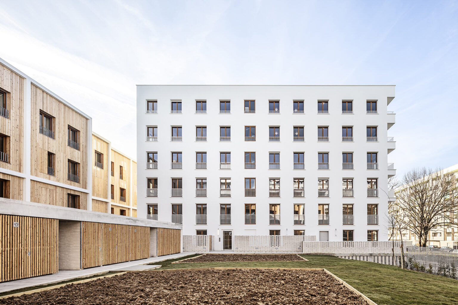 mao + JTB.architecture - Logements à La Courneuve, 2018, Architecte MAO