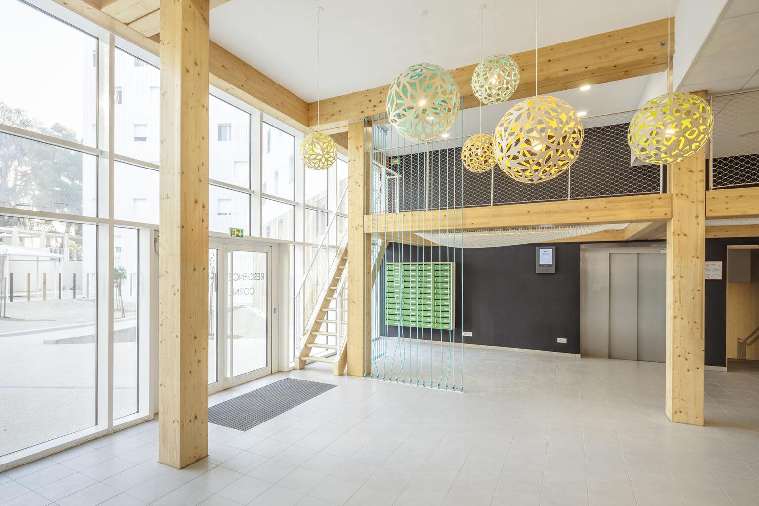 A+Architecture - Cité U Lucien Cornil à Marseille